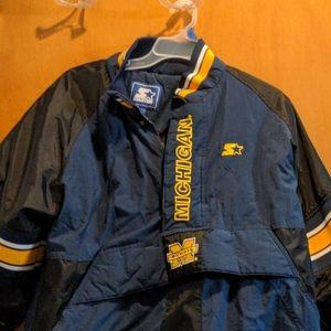 University of Michigan vintage Starter coat